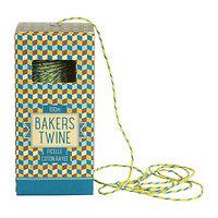 Ficelle bicolore jaune et bleu Bakers Twine - EDITION LIMITEE