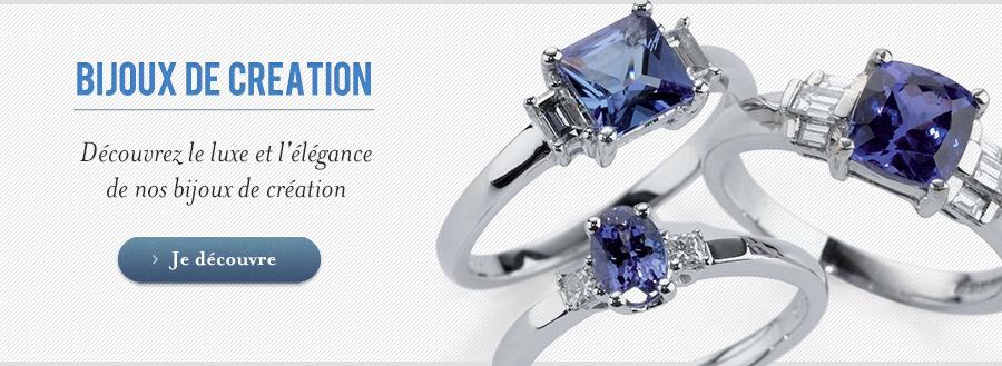 Le luxe et l'élégance des bijoux de création