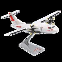 """ATR model scale 1/100th kit ATR 42-600 """"2016 Livery"""""""