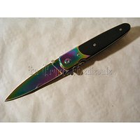 COUTEAU SEMI ASSISTE RAINBOW/CHASSE