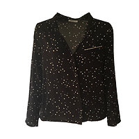 Constellation - Chemisier étoiles // Noir