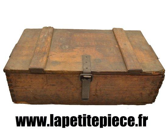 grande caisse munitions en bois allemande premi re guerre mondiale allemagne ww1. Black Bedroom Furniture Sets. Home Design Ideas