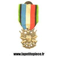 Médaille des vétérans de la Guerre Franco-Prussienne de 1870 - 1871. 2eme type