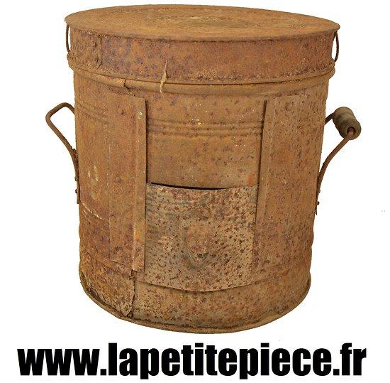 Poele à bois portatif Français de la Première Guerre Mondiale