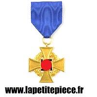 Médaille Allemande 40 années de service