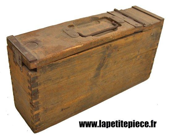 Caisse bois pour bande mg08 mg 08 15 08 - Caisse en bois a donner ...