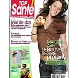 TOP SANTE (POCKET) N°210 MARS 2008  REGIME PROTEINE/ MAL DE DOS/ PARKINSON/ ESTOMAC