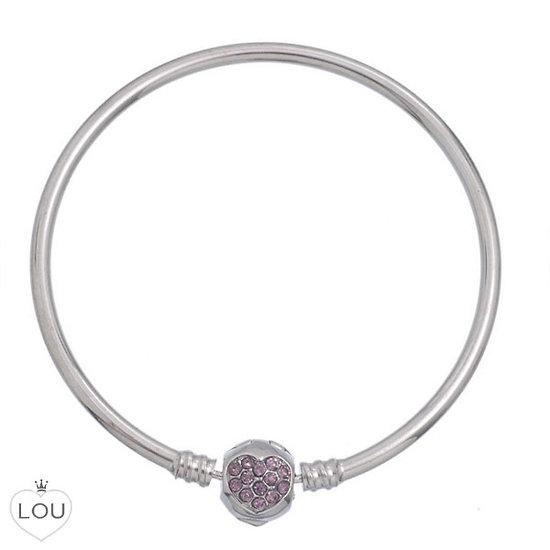 bracelet jonc rose bracelets charms pas cher. Black Bedroom Furniture Sets. Home Design Ideas