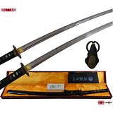 Katana Miyamoto Musashi - lame acier ressort