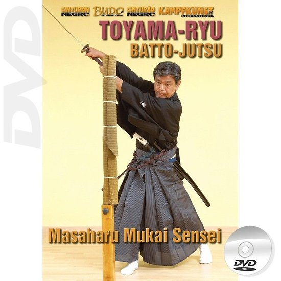 DVD Masaharu Mukai Toyama Ryu Batto Jutsu