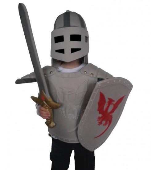 Armure enfant (déguisement) en mousse