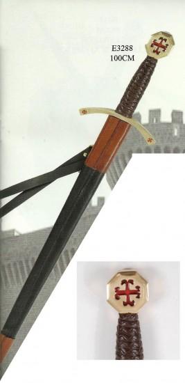Épée de frappe templière