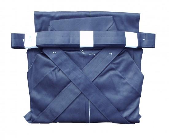 Hakama Bleu. 60% coton