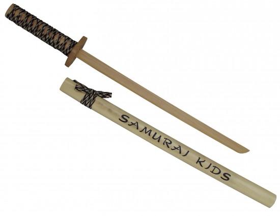 Katana en bois pour enfant