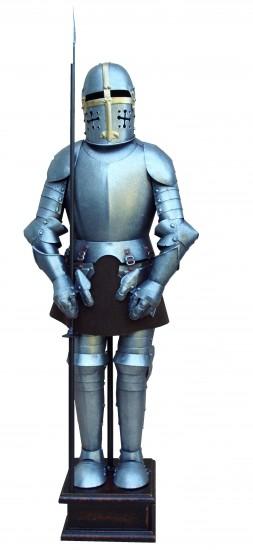 Armure Templière avec arme