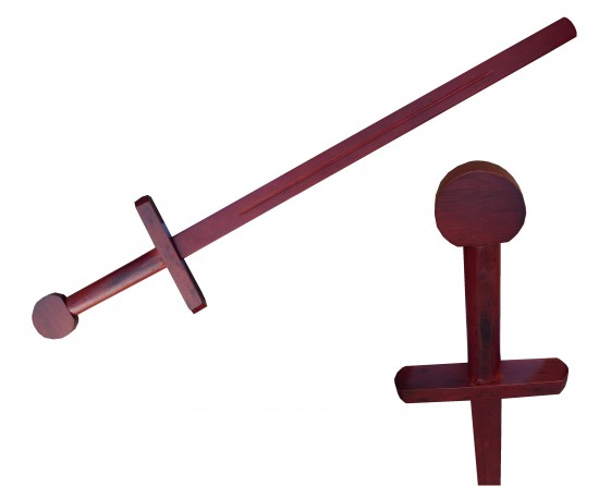 Epée en bois - rouge