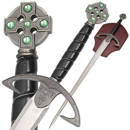 Epée décorative avec support