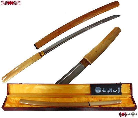 Shirasaya Wakisashi bois naturel