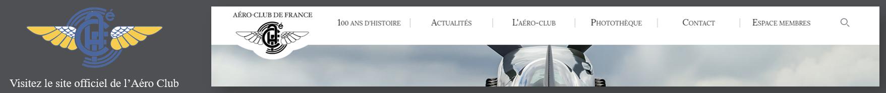 Aéro Club de France - Site Officiel