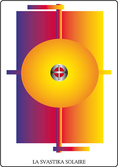 Poster SOLARIA - La Svastika solaire (60 x 40 cm)
