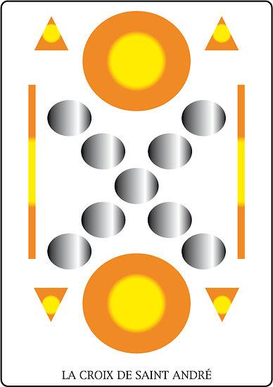 Poster SOLARIA - La croix de Saint  André (60 x 40 cm)