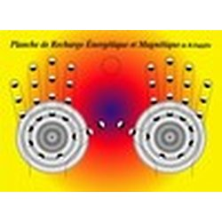 """La Planche de Recharge Magnétique """"modèle couleur"""""""