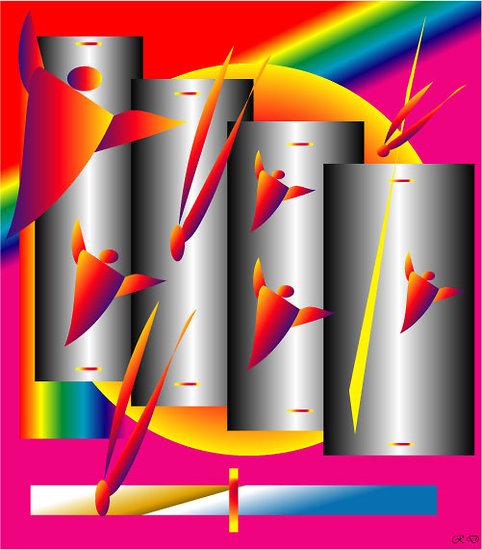 POSTER - LE VOL DES ANGES  (format:  90 x 60 cm)