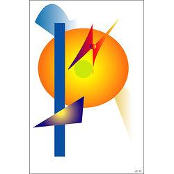 POSTER - La CONSCIENCE  (format: 90 x 60 cm)