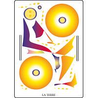 Poster SOLARIA - La Terre  (60 x 40 cm)
