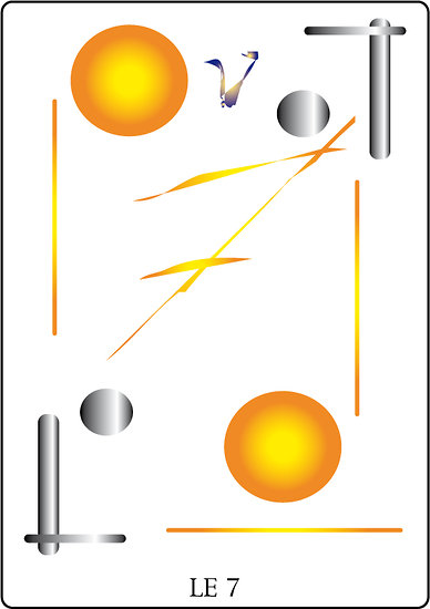 Poster SOLARIA  - Le 7 (60 x 40 cm)