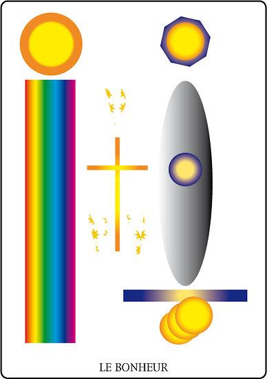 Poster SOLARIA  - Le Bonheur (60 x 40 cm)