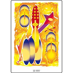 Poster SOLARIA  - Le Feu (60 x 40 cm)