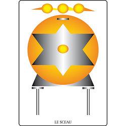 Poster SOLARIA  - Le Sceau  (60 x 40 cm)