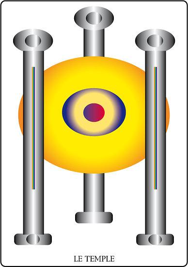 Poster SOLARIA - Le Temple (60 x 40 cm)