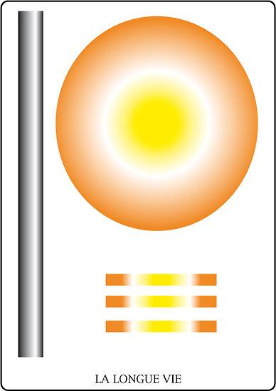 Poster SOLARIA - Longue vie (60 x 40 cm)