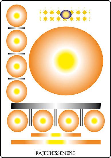 Poster SOLARIA - Rajeunissement  (60 x 40 cm)