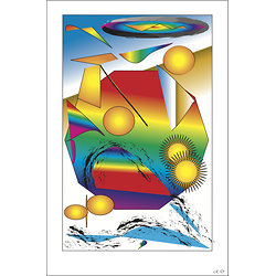 POSTER - PREND SOIN DE TOI   (format: 90 x 60 cm)