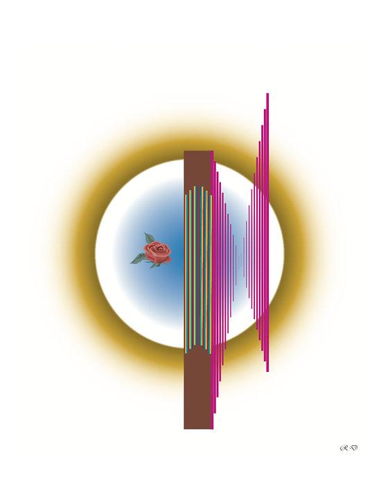 POSTER - LA HARPE SOLAIRE (format: 90 x 60 cm)
