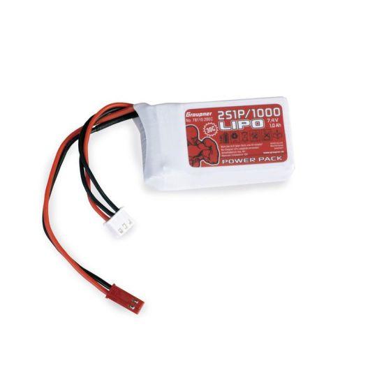 LiPo 2S 1000mAh  7,4 V 30C
