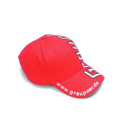 Casquette à visière rouge