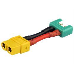 Adaptateur compatible XT60 femelle / MULTIPLEX mâle