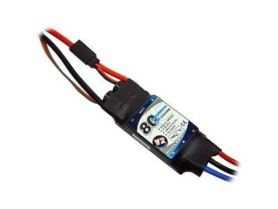 Controleur Brushless 80A V2 - XC8018BA Dualsky
