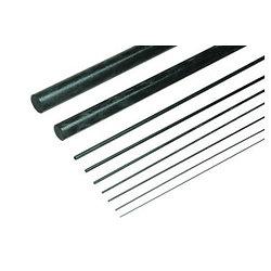 Jonc carbone ø10mm, longueur 500mm