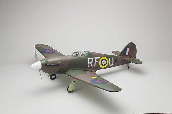 Hawker Hurricane SQS 50 ARF env.1.52m Kyosho