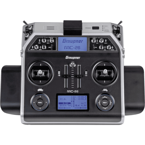 Radio Graupner MC-26 (émetteur seul)