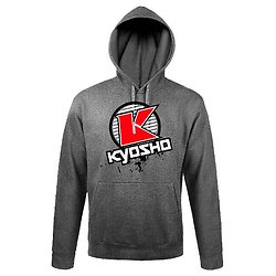Sweat capuche K-Circle gris