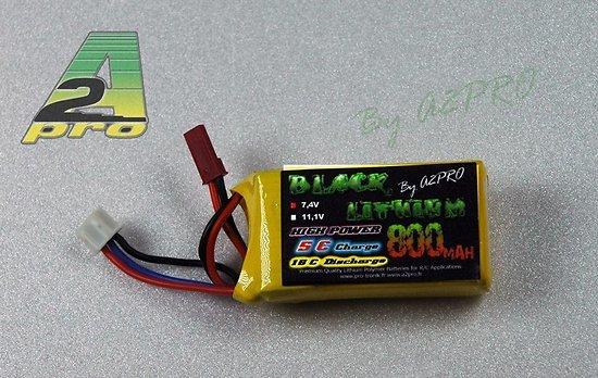 Accu Lithium 2S/ 800mAh 7,4V 15C