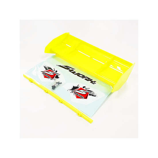Aileron 1/8 FORMULA RACE 2.0 Jaune Fluo SW228008FY