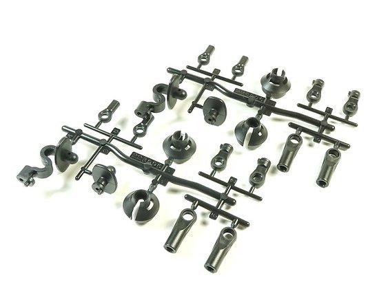 S35-4 - Set Chappes amortisseurs, support carro et chapes (2) SW228006