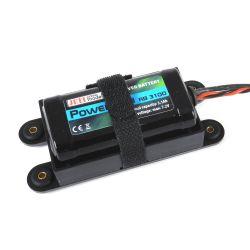 Batterie Rx LiIon 2S 7.2V 3100mAh Jeti